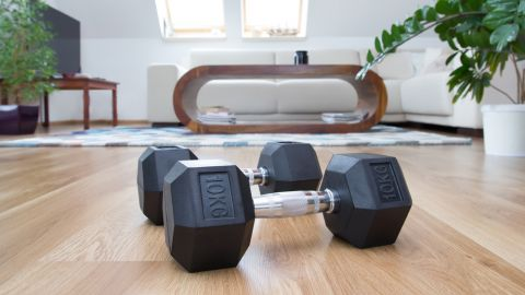 at home workout video